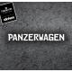 """naklejka """"PANZERWAGEN"""""""