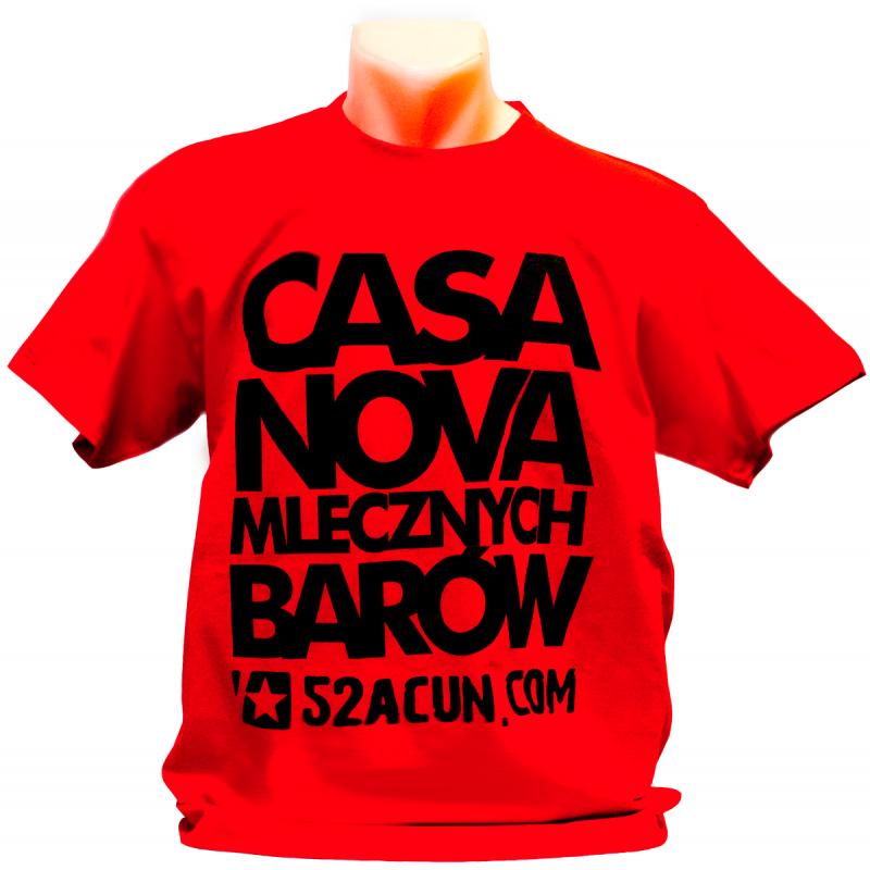 """""""CASANOVA BARÓW MLECZNYCH"""" - Koszulka"""