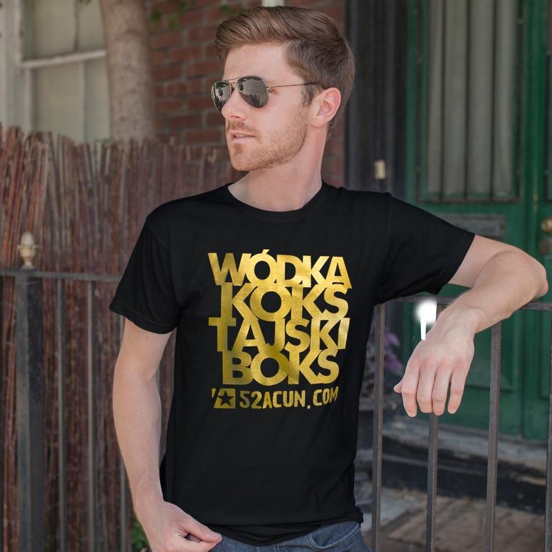 Wódka koks tajski boks koszulka